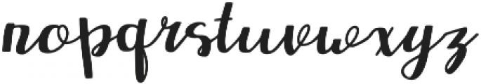Redbus Regular otf (400) Font LOWERCASE