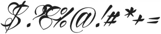Reditum otf (400) Font OTHER CHARS