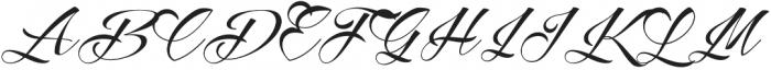 Reditum otf (400) Font UPPERCASE