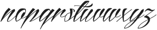 Reditum otf (400) Font LOWERCASE