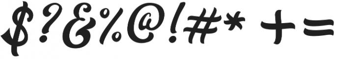 Redoura Alt Seven otf (400) Font OTHER CHARS