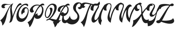Redoura Alt Seven otf (400) Font UPPERCASE