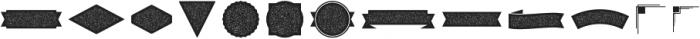 Redvolve Extras ttf (400) Font UPPERCASE