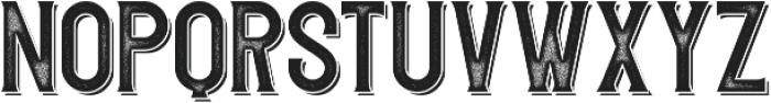 Redvolve Press Shadow ttf (400) Font LOWERCASE