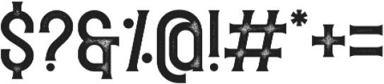 Redvolve Press ttf (400) Font OTHER CHARS