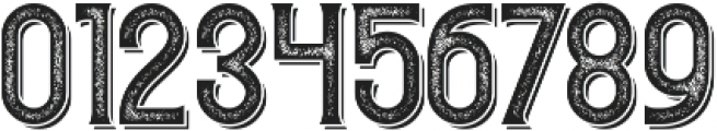 Redvolve Press2 Shadow ttf (400) Font OTHER CHARS