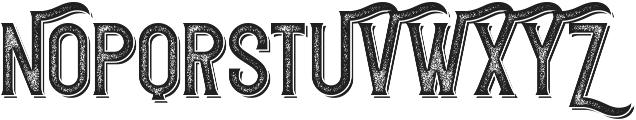 Redvolve Press2 Shadow ttf (400) Font UPPERCASE