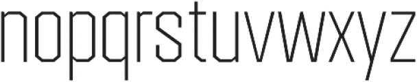 Redwing Thin otf (100) Font LOWERCASE
