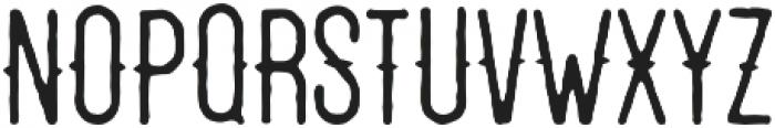 Redwood otf (400) Font UPPERCASE