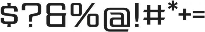 Redzone Light SemiExtd otf (300) Font OTHER CHARS