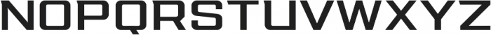 Redzone Medium Extd otf (500) Font UPPERCASE