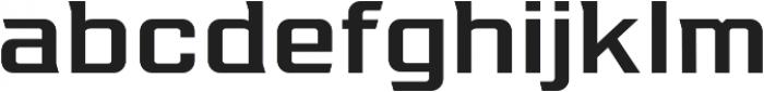 Redzone Medium SemiExtd otf (500) Font LOWERCASE