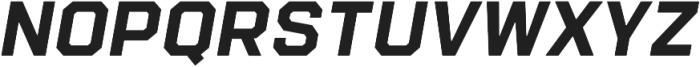 Refinery 75 Bold Italic otf (700) Font UPPERCASE