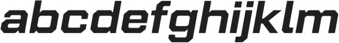 Refinery 95 Bold Italic otf (700) Font LOWERCASE