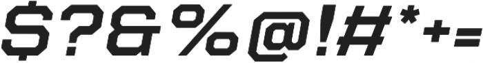Refinery 95 SemiBold Italic otf (600) Font OTHER CHARS