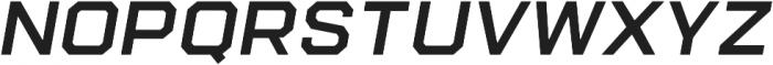 Refinery 95 SemiBold Italic otf (600) Font UPPERCASE