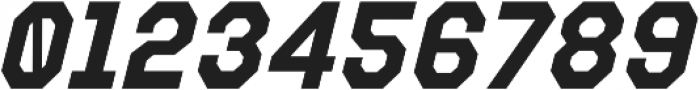 Refuel Bold Italic otf (700) Font OTHER CHARS