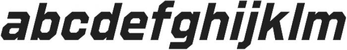 Refuel Bold Italic otf (700) Font LOWERCASE