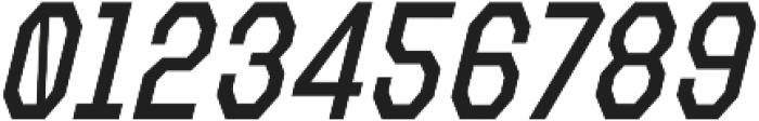 Refuel Condensed Regular Italic otf (400) Font OTHER CHARS