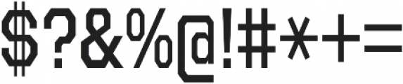 Refuel Condensed Regular otf (400) Font OTHER CHARS