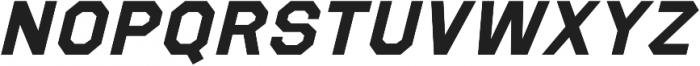 Refuel Expanded Bold Italic otf (700) Font UPPERCASE