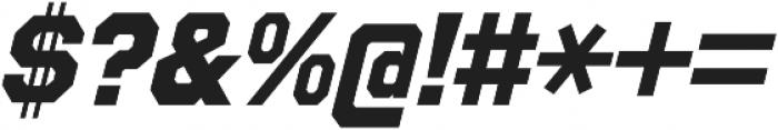Refuel ExtraBold Italic otf (700) Font OTHER CHARS