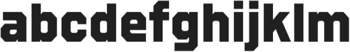 Refuel ExtraBold otf (700) Font LOWERCASE