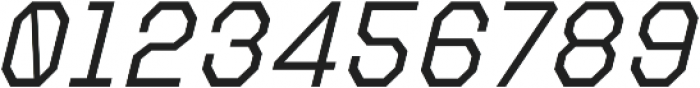 Refuel Light Italic otf (300) Font OTHER CHARS