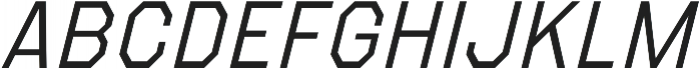 Refuel Light Italic otf (300) Font UPPERCASE