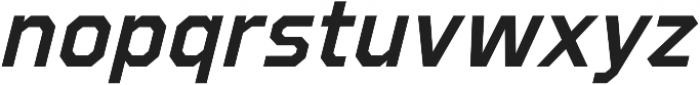 Refuel SemiBold Italic otf (600) Font LOWERCASE