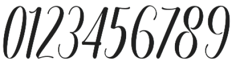 Regaled otf (400) Font OTHER CHARS