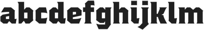 Regalia otf (400) Font LOWERCASE
