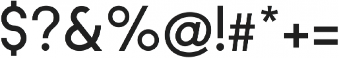 Regime Medium ttf (500) Font OTHER CHARS