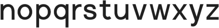 Regime Medium ttf (500) Font LOWERCASE