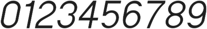 Regime Regular Oblique ttf (400) Font OTHER CHARS
