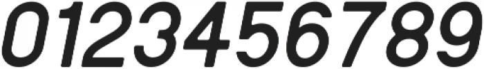 Regime Round Bold Oblique Round ttf (700) Font OTHER CHARS