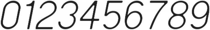 Regime Round Light Oblique Round ttf (300) Font OTHER CHARS