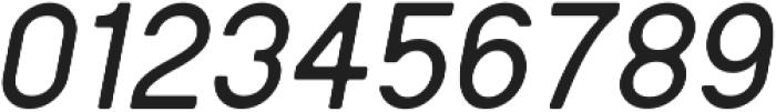 Regime Round Medium Oblique Round ttf (500) Font OTHER CHARS