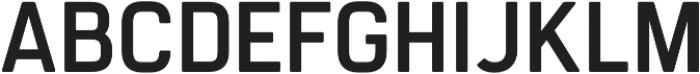 Regular Oblique otf (400) Font UPPERCASE
