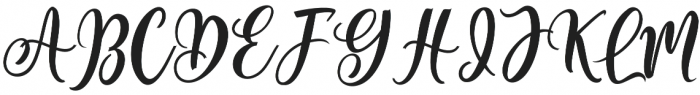 Regular Queen Regular otf (400) Font UPPERCASE