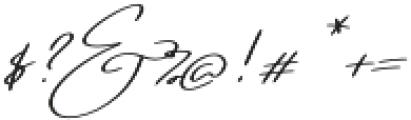 Regular X Sl otf (400) Font OTHER CHARS