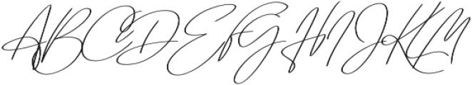 Regular X Sl otf (400) Font UPPERCASE