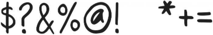 RegularDude Regular otf (400) Font OTHER CHARS