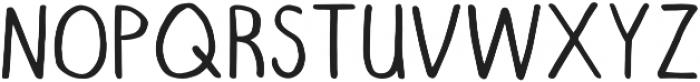 RegularDude Regular otf (400) Font UPPERCASE