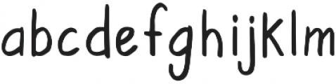 RegularDude Regular otf (400) Font LOWERCASE