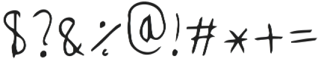 Rehema Regular ttf (400) Font OTHER CHARS