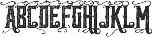 Reidfork Handdrawn Rough otf (400) Font UPPERCASE