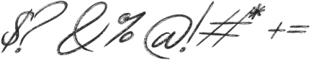 Relevant Brush otf (400) Font OTHER CHARS
