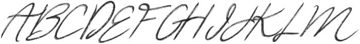 Relevant Brush otf (400) Font UPPERCASE