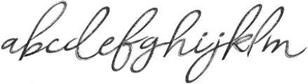 Relevant Brush otf (400) Font LOWERCASE